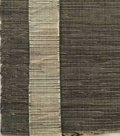 KNOLL TEXTILES.  Evelyn Hill Anselevicius. Handwoven H910, two colorways. Ca. 1953. Wool, plastic, jute. Private collection. https://www.wilsonartcontract.com/knoll-textiles-at-bard/