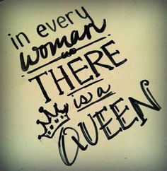 Really??  Don't tell my SISTER.......cause she is THE QUEEN in our family!!!  Lu, Mpp