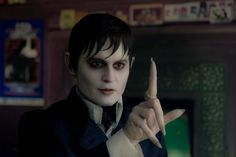 Johnny Depp as Barnabas Collins. I'm personally not really caring for those fingers. 2012 Dark Shadows movie.