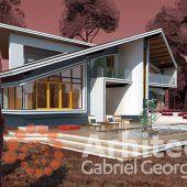 Casa cu etaj 61 | Proiecte de case personalizate | Arhitect Gabriel Georgescu & Echipa Outdoor Decor, Home Decor, 2nd Floor, Houses, Decoration Home, Room Decor, Interior Decorating