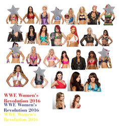 """WWE Women's Revolution 2016 Roleplay?"" by thefuturemrsambrose ❤ liked on Polyvore featuring Carmella"