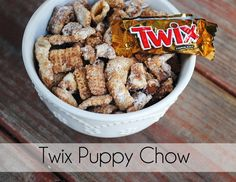 Twix Puppy Chow Recipe! This is for all you twix haters..Kelly and Angie!