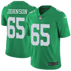 bf272d2e9 DeSean Jackson jersey Nike Eagles  65 Lane Johnson Green Men s Stitched NFL  Limited Rush Jersey. Dez Bryant ...