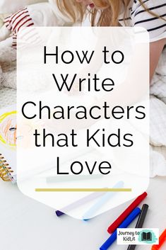The goal for picture book authors is to create characters that kids love and will want to read over again. Use this character worksheet to create your own! Writing Kids Books, Book Writing Tips, Fiction Writing, Writing Skills, Kid Books, Writing Workshop, Writing Process, Library Books, Writing Ideas