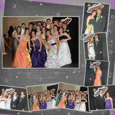 Pretty Paper User: Last of the digi prom layouts