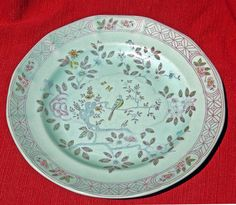 Antique Ironstone Adams Calyx Ware SINGAPORE BIRD Plate by EdibleComplex on Etsy (Beth), via Flickr