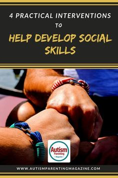 4 Practical Interventions to Help Develop Social Skills - Autism Parenting Magazine Autism Spectrum Disorder Symptoms, Autism Articles, Social Skills Autism, Daycare Curriculum, Autism Parenting, Social Stories, Children With Autism, Parenting Magazine, Adhd