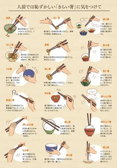 Japanese Manners about Chopsticks Japanese Words, Japanese Art, Japanese Things, Japanese Design, Japanese Language, Food Illustrations, Japanese Culture, Manners, Drawing Reference