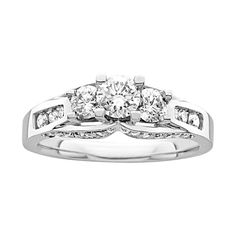 1 ct. tw. Diamond Engagement Ring