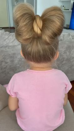 Cute Hairstyles For Kids, Baby Girl Hairstyles, Easy Hairstyles For Long Hair, Kids Hairstyle, Toddler Hairstyles, Short Hair For Kids, Hairdo For Long Hair, Hair Dos For Kids, Girl Hair Dos