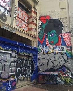 #streetart #paris by 6m2p