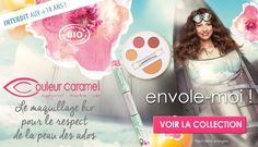 Collection Envole-moi ! Teenager organic make-up by Couleur Caramel - NEW