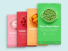 Building your own recipe or cooking App. Decide on your app functionality. Create a multi-purpose app. How much does it cost to make a mobile app for meal planning? Web Design, App Ui Design, User Interface Design, Graphic Design, Flat Design, Application Ui Design, Application Mobile, Mobile Applications, Splash Screen