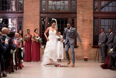 Centered Around Love: Wedding in Virginia Jumping The Broom, Fancy Makeup, Perfect Proposal, Brass Band, Together Forever, Walking Down The Aisle, Bridesmaid Dresses, Wedding Dresses, Black Love
