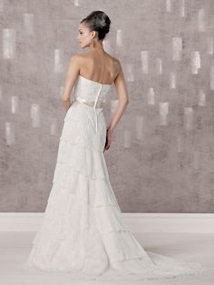 kathy ireland for Mon Cheri  |  Wedding Dresses  |  Style #231236