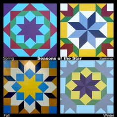 Season of the Star | Ontario Barn Quilt Trails