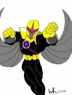 darkhawk/liberty agent(dc comics)