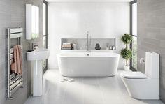 Afbeeldingsresultaat voor grey bathroom