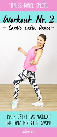 Workout Nr. 2: Cardio Latin Dance...Yeeeha!
