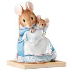 Beatrix Potter Hunca Munca Figurine (Import Grande Bretagne): Amazon.fr: Cuisine & Maison