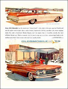 1959 Oldsmobile advertising