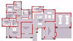 House Plans Uk, Tuscan House Plans, House Plans With Photos, 4 Bedroom House Plans, Bungalow House Plans, Family House Plans, Dream House Plans, House Floor Plans, Home Design Plans