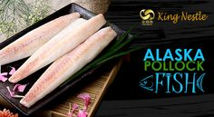 Alaska Pollock, also popularly known as Walleye Pollock by Frozen Seafood Suppliers.