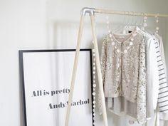 DIY-Anleitung: Garderobe in 15 Minuten bauen via DaWanda.com