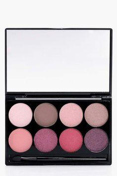boohoo Boohoo 8 Shade Colourpop Eye Palette, eye shadow, cosmetics, makeup, beauty #ad