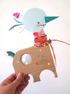 paper friends by blanca helga via handmade charlotte