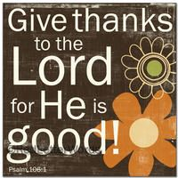 Gives Thanks