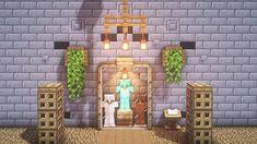 Modern Minecraft Houses, Minecraft Structures, Minecraft Room, Minecraft Plans, Minecraft House Designs, Minecraft Survival, Minecraft Tutorial, Minecraft Architecture, Minecraft Blueprints