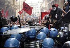 Minuto a minuto: La 'Marcha del Millón de Máscaras' de Anonymous da la vuelta al mundo