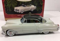 1949 Cadillac Coupe DeVille 50th Anniversary HALLMARK Ornament Diecast 1999 Mint  | eBay