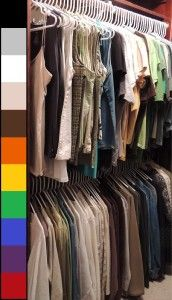 Become a master of organizing your closet