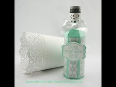 Linda Parker UK Independent Stampin' Up! Demonstrator from Hampshire @ Papercraft With Crafty : Gift Bag Punch Board–Wine Bottle Sleeves Mini Wine Bottles, Wine Bottle Gift, Wine Bottle Crafts, Bottle Box, Envelope Punch Board Projects, Wine Glass Charms, Happy New Year, Gifts, Birthday