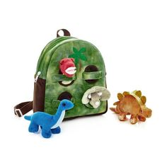 Preschoolers love this backpack with 4 dinosaur plush toys. Dino Backpack has pockets to access your T-rex, Triceratops, Stegosaurus and Brachiosaurus. Little Passports, Curious Kids, Gifts For Art Lovers, Toddler Boy Fashion, Cute Toddlers, Kits For Kids, Kids Backpacks, Kids Christmas, Activities