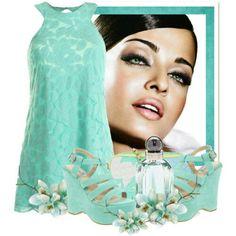 Love make-up Azul Tiffany, Mint Dress, Cool Style, My Style, Balenciaga, Eye Candy, Teal, Make Up, Woman