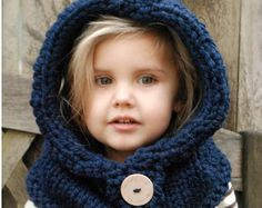 This listing is a PDF PATTERN ONLY for the Failynn Fox Cowl, NOT finished product.  This cowl is handcrafted and designed with comfort and warmth in mind... Perfect for layering through all the seasons...  This cowl makes a wonderful gift and of course also something great for you or your little one to wrap up in.  All patterns written in standard US terms.  THIS PATTERN DOES HAVE SOME CROCHET EDGING AND DETAILS  *Sizes: 12/18 months - Toddler - Child - Adult sizes *Any Super Bulky yarn…