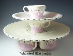 Whimsical Bliss Studios - Tea Party Pedestal Pate