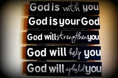 God is your God