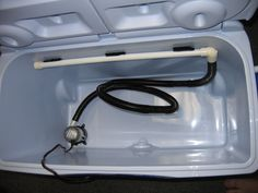 diy boat seat livewell - Google Search