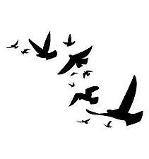 Small Black Bird Templates Bing Images Bird Template Black