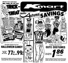 kmart halloween october 1976