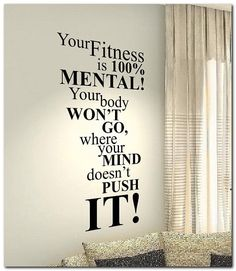 Gym wall Graphics - Your Fitness Gym Fit Motivational Life Family Home Love Quote wall vinyl decals stickers Art Decor Bedroom Home Happiness Wall Graphics. Fitness Inspiration Quotes, Fitness Motivation Quotes, Health Motivation, Exercise Motivation, Style Inspiration, Football Motivation, Gym Motivation Women, Exercise Routines, Wall Quotes