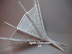 Бумажные трубочки (лоза для плетения) на заказ