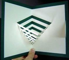 Libros Pop-Up Books Cards: Tarjetas Pop-up en el Blog Jugar con papel