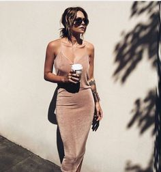 #nude #summer #dress