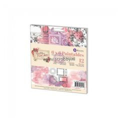 Prima Marketing Tales Of You & Me Paintables Watercolor Paper Pad 6x6