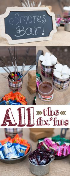 Birthday Bonfire Party Ideas | Such the Spot